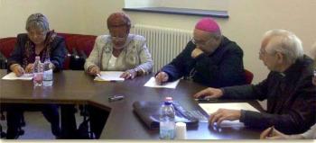 Incontro del Direttore Generale con il vescovo di Chiavari